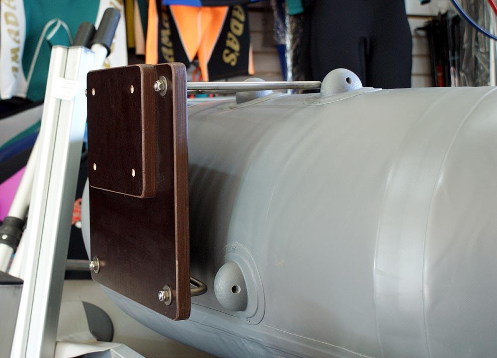 производство транцев для лодок