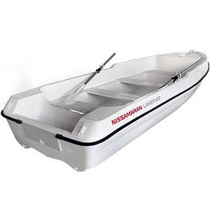 Моторно-гребная лодка Laker 410