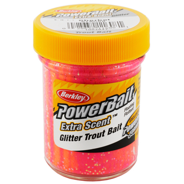 Паста форелевая Berkley PowerBait Sherbet/Glitter Cheese/Fromage (1376754)