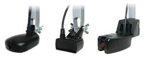(KZ-1500) крепёж для датчика с креплением на транец в лунку