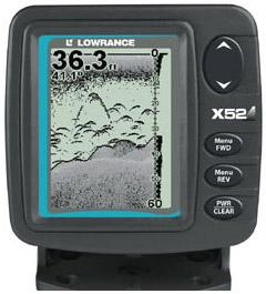 Эхолот Lowrance X52