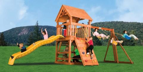 Детские комплексы уличные / Rainbow Play Systems / Fun House