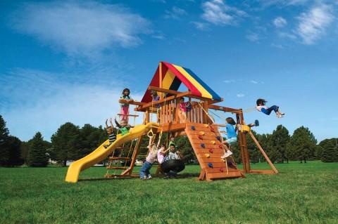 Детские комплексы уличные / Rainbow Play Systems / Jungle Gym