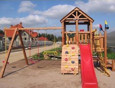 Форт-2 Детская игровая площадка