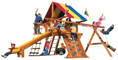Детские комплексы уличные / Rainbow Play Systems / Sunshine Castle