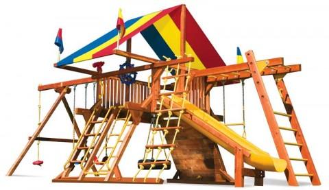 Детские комплексы уличные / Rainbow Play Systems / Sunshine Castle II