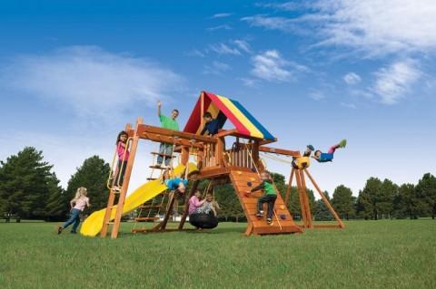 Детские комплексы уличные / Rainbow Play Systems / Palace