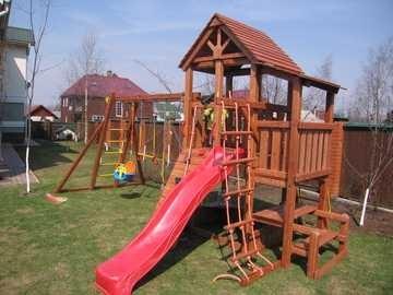 Форт-2М Детская игровая площадка