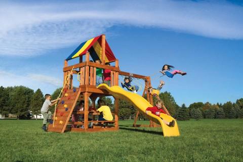 Детские комплексы уличные / Rainbow Play Systems / Tree House
