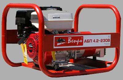 Генератор бензиновый Вепрь АБП 4,2-230 ВР
