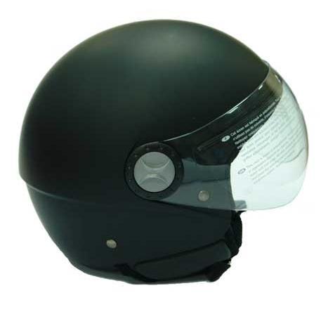 Шлем для скутера матовый H710, со сьемным вкладышем. Черный, синий, красный, серебристый