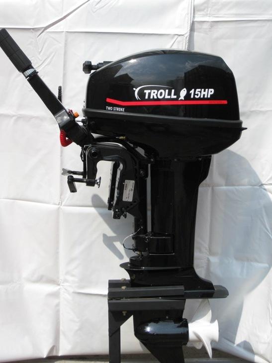 Двухтактный лодочный мотор Troll(Трол)Т15S