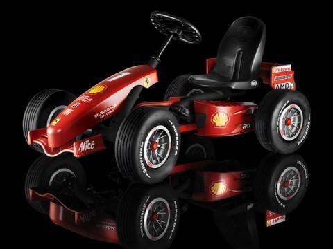 ���������� Berg Ferrari F1